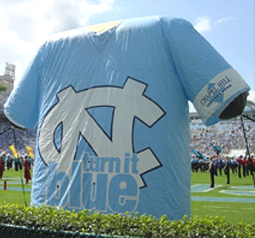 North Carolina football promotion