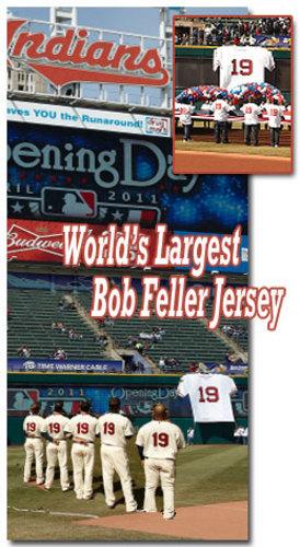 Bob Feller Giant Jersey