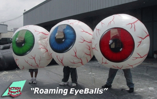 Roaming EyeBalls