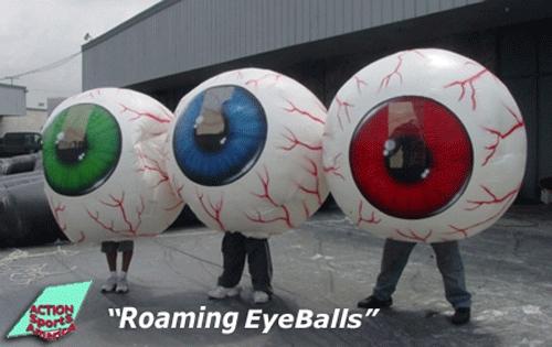 Roaming EyeBalls