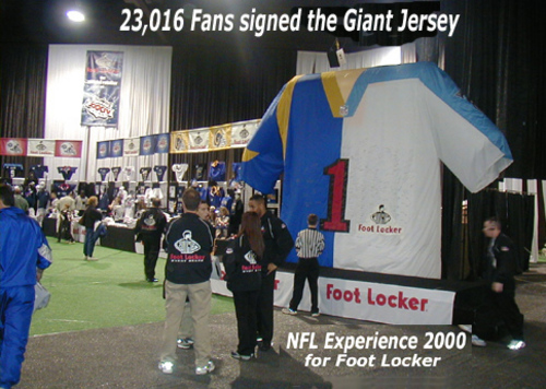 FootLocker at NFL Experience- Super Bowl