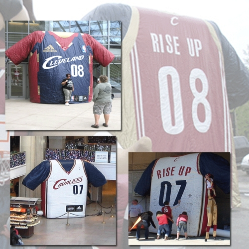 World's Largest Cavs Jersey
