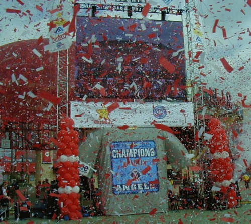 Angels World Series Parade