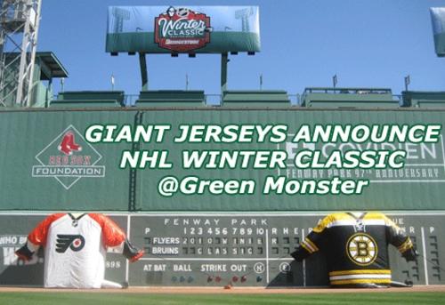 NHL WINTER CLASSIC 2010 ANNOUNCEMENT