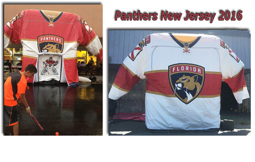 Florida Panthers Unveil New Jersey Design