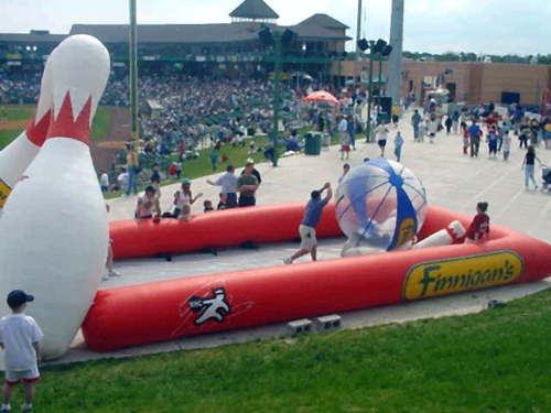 Lakewood Blueclaws Human Bowling Alley