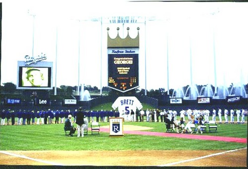 George Brett HOF Honor