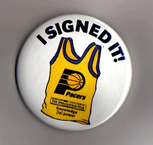 I Signed Button