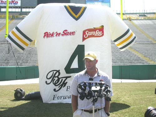 Green Bay Packers & Brett Favre