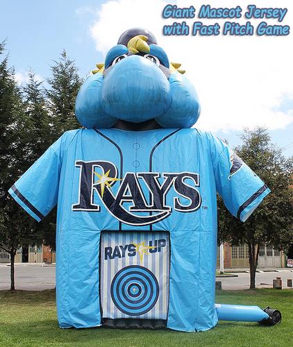 Tampa Bay Rays Mascot Jersey combo