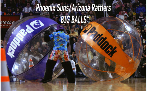 Phoenix Suns Gorilla Has a BALL
