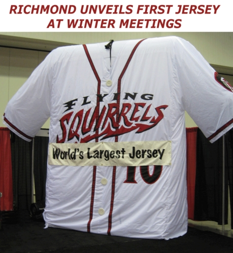 Flying Squirrels Jersey Unveiled