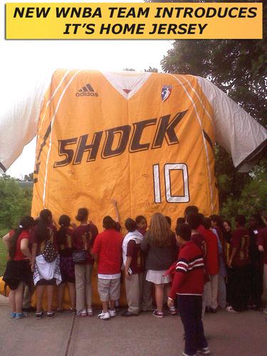 Tulsa Shock -- the newest WNBA team