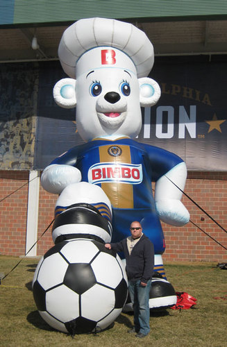 Philadelphia Union BIMBO BEAR