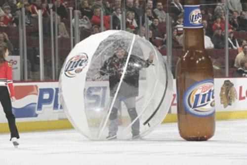 Miller Beer @ Chicago Blackhawks